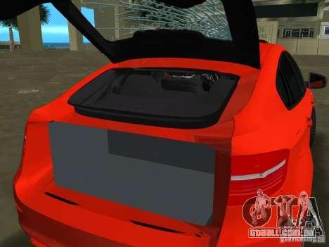 BMW X6M para GTA Vice City deixou vista