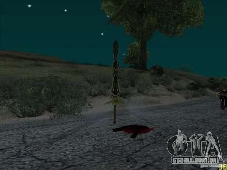 Garra Beliara para GTA San Andreas terceira tela