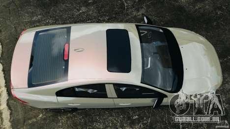 Volvo S60 R Design para GTA 4 vista direita