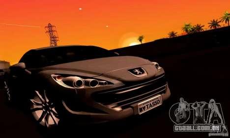 Peugeot Rcz 2011 para o motor de GTA San Andreas