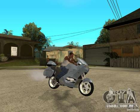 BMW R 1150 RT para GTA San Andreas vista direita
