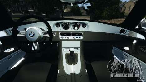 BMW Z8 2000 para GTA 4 vista de volta