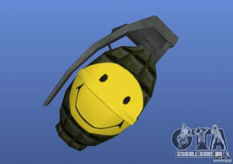 Smiley Granate para GTA 4 segundo screenshot