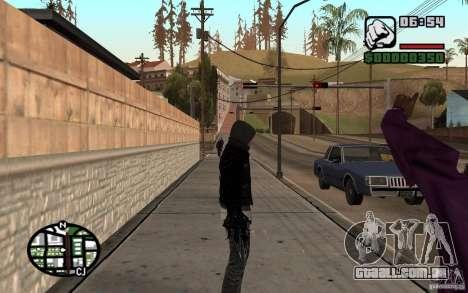Alex Mercer para GTA San Andreas por diante tela