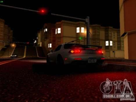Mazda RX-7 para GTA San Andreas interior