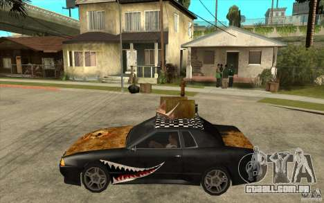 Elegy Rost Style para GTA San Andreas esquerda vista