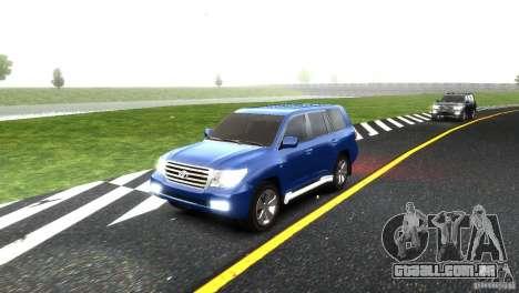Toyota Land Cruiser 200 RESTALE para GTA 4 vista inferior