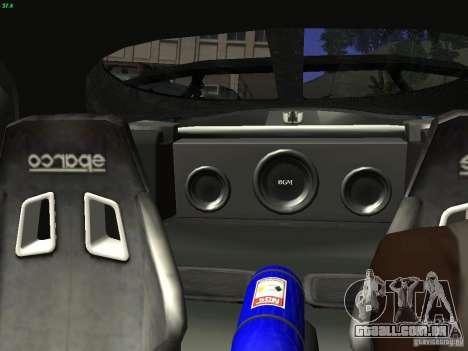Mazda RX 7 Veil Side para vista lateral GTA San Andreas