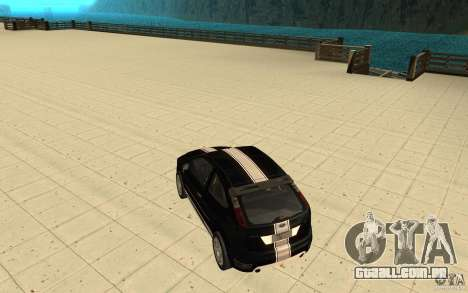 Ford Focus-Grip para GTA San Andreas vista inferior