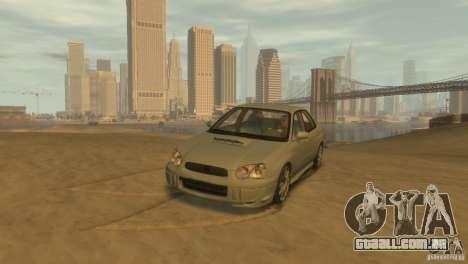 Subaru Impreza para GTA 4