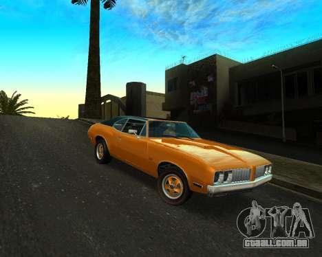 EON Stallion GT-A para GTA San Andreas esquerda vista