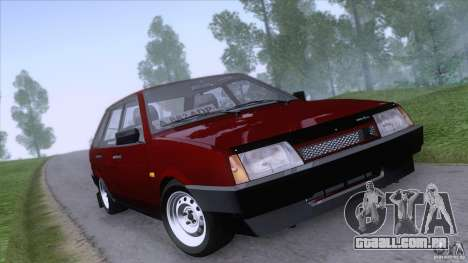 VAZ 2109 drenar Final para GTA San Andreas