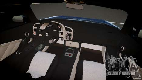 Honda S2000 2002 v2 para um passeio tranquilo para GTA 4 vista direita