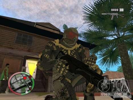 Coleção de armas de Crysis 2 para GTA San Andreas oitavo tela