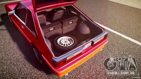 Ford Mustang GT 1993 Rims 2 para GTA 4 vista inferior