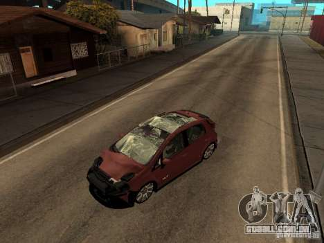Fiat Punto T-Jet Edit para GTA San Andreas traseira esquerda vista