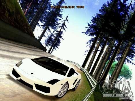 Lamborghini Gallardo LP560-4 para GTA San Andreas traseira esquerda vista