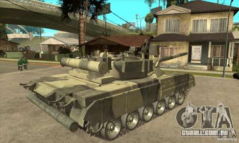 T-80U MBT para GTA San Andreas vista direita