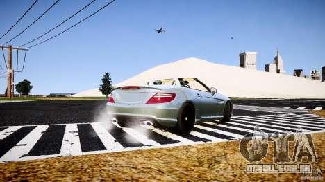 Mercedes-Benz SLK 2012 para GTA 4 traseira esquerda vista