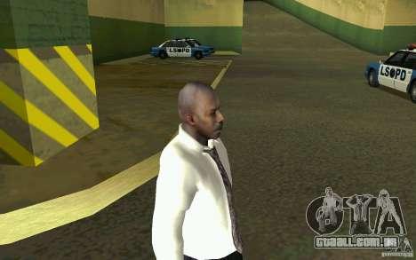 Civil HD para GTA San Andreas por diante tela
