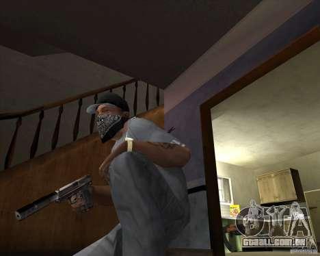 Pistola com silenciador para GTA San Andreas segunda tela