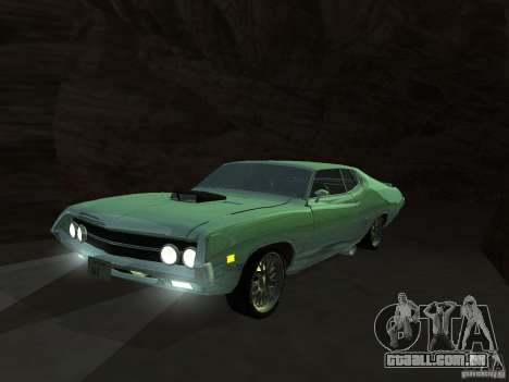 Ford Torino Cobra 1970 Tunable para vista lateral GTA San Andreas