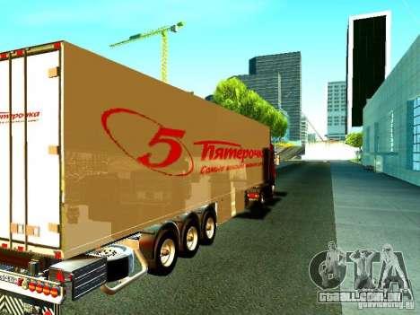 Novo trailer para GTA San Andreas traseira esquerda vista