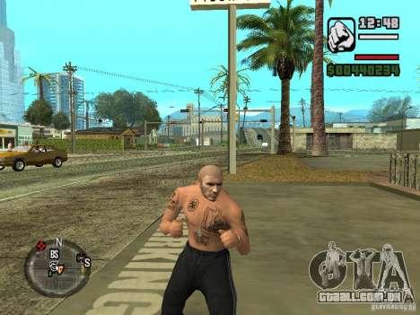 Blatnye tatuagens para GTA San Andreas terceira tela