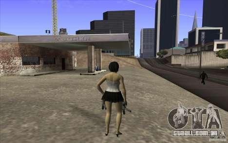 Kaileena big fan para GTA San Andreas terceira tela