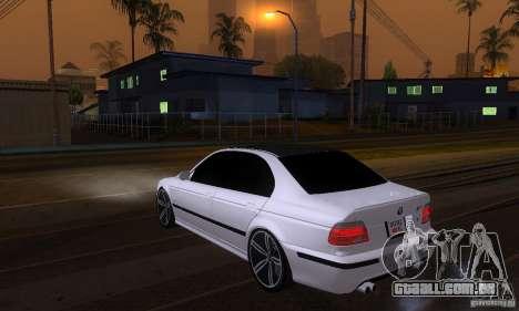 BMW M5 E39 2003 para GTA San Andreas esquerda vista