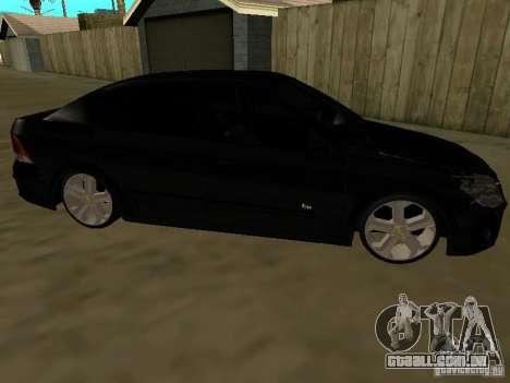 Chevrolet Vectra Elite 2.0 para GTA San Andreas esquerda vista
