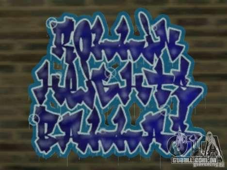 New LS gang tags para GTA San Andreas quinto tela