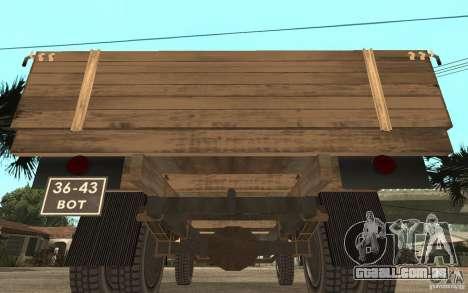 Gaz-52 para GTA San Andreas vista direita