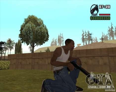 Black Chrome Eagle para GTA San Andreas terceira tela