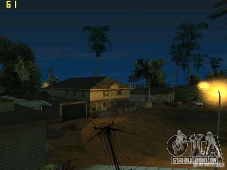 GTA SA IV Los Santos Re-Textured Ciy para GTA San Andreas quinto tela