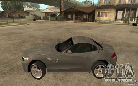 BMW Z4 sdrive35is 2011 para GTA San Andreas esquerda vista
