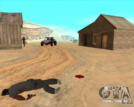 Duelo de vaqueiro para GTA San Andreas quinto tela