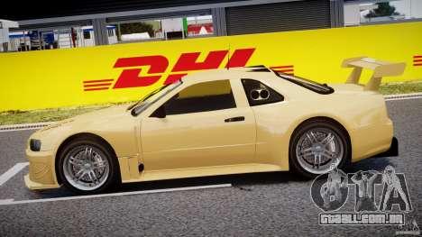 Nissan Skyline R34 v1.0 para GTA 4 esquerda vista
