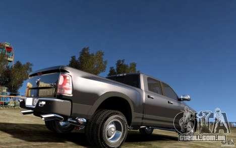 Dodge Ram 3500 Stock Final para GTA 4 vista direita