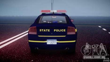 Dodge Charger NY State Trooper CHGR-V2.1M [ELS] para GTA 4 motor