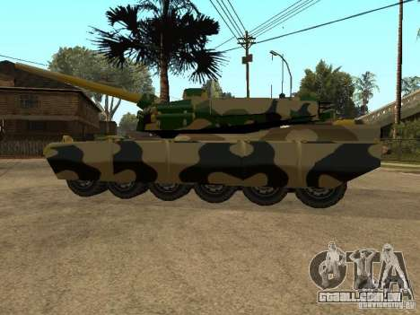 Camuflagem para Rhino para GTA San Andreas vista direita