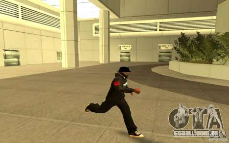 Jaqueta-ponto (G) para GTA San Andreas quinto tela