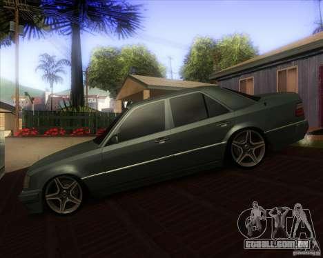 Mercedes-Benz S500 pião para GTA San Andreas esquerda vista
