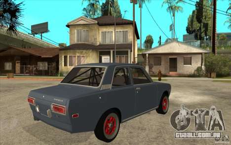 Datsun 510 JDM Style para GTA San Andreas vista direita