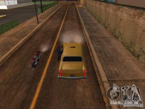 Salto de moto no meu carro para GTA San Andreas terceira tela