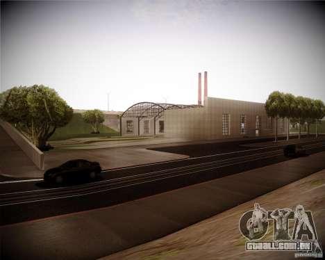 Uma coleção de mods de gráficos para GTA San Andreas segunda tela