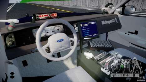 Ford Crown Victoria Homeland Security [ELS] para GTA 4 vista direita