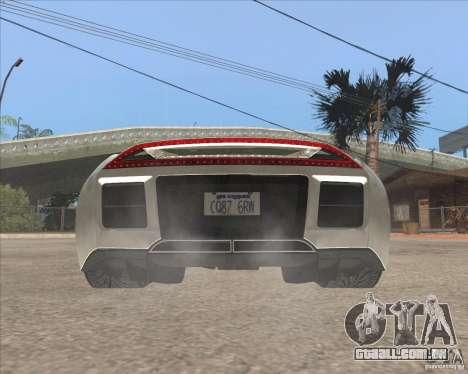 Saleen S5S Raptor para GTA San Andreas traseira esquerda vista