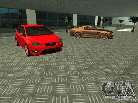 Auto Show Ford para GTA San Andreas quinto tela