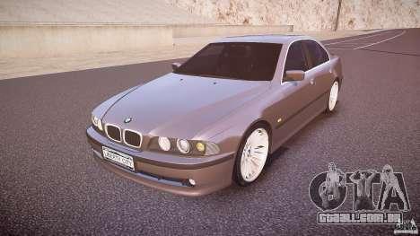 BMW 530i E39 para GTA 4